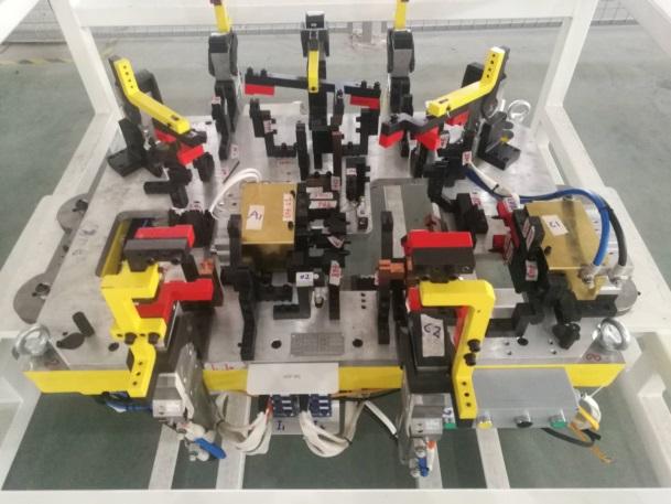 比亚迪西安 SA2FC座椅骨架总成焊接夹具